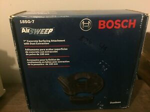 Bosch 7 Concrete Surfacing Attachment With Dust Extraction 18sg 7 ships Free