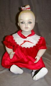 Child Female Mannequin Infant Sitting Vintage With Clothes Included