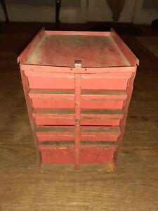 Vintage Snap on Tools 5 Drawer Tool Box Middle Chest Great Condition