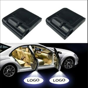 2x Wireless Led Car Door Logo Projector Puddle Courtesy Ghost Light For Toyota