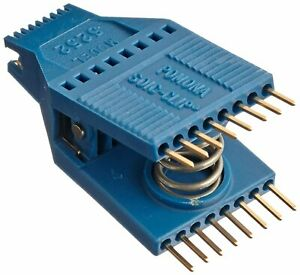 Pomona 5252 Soic Test Clip 16 Pin 0 050 Lead Spacing 0 830 Width pack