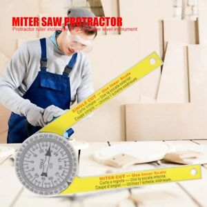 Miter Saw Protractor Pro site Accurate Angle Measurements Joiner Carpenter Tools