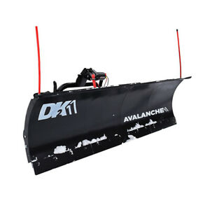 Dk2 Avalanche Universal Snow Plow Kit 84 X 19 X 2 Inch Receiver Mount for Parts