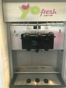 Electro Freeze Soft Serve Frozen Yogurt Water Cooled Machines