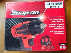 Snap On Ct8810a 18v 3 8 Cordless Impact Wrench Kit
