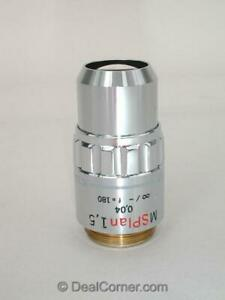 Olympus Msplan 1 5x Microscope Objective ms Plan Excellent