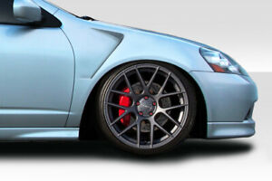 For 02 06 Acura Rsx Duraflex F 1 Fenders 2pc 105525