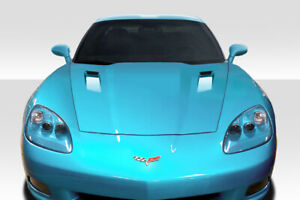 For 05 13 Chevrolet Corvette C6 Duraflex Rksv Hood 115182