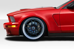 For 05 09 Ford Mustang Duraflex Gt350 V2 Look Front Fenders 2pc 115269