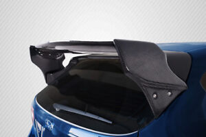 For 08 11 Subaru Impreza 5dr 08 14 Wrx Sti 5dr Carbon Fiber Vr S Wing 4pc 115464