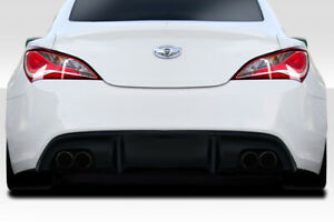 For 10 16 Hyundai Genesis Coupe 2dr Duraflex Rbs Rear Diffuser 116201