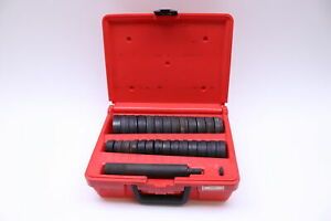 Snap on Tools A257 Complete Heavy duty Bushing Driver Set In Case