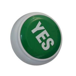 Yes Game Answer Buzzer Electronic Responder Button Digital Responder Big But