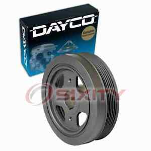 Dayco Engine Harmonic Balancer For 2002 2018 Nissan Altima 2 5l L4 Cylinder Fi