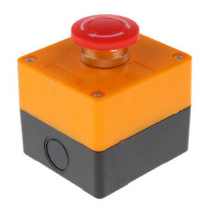 Emergency Stop Switch Control Electrical 660v Red E Stop Button Switch