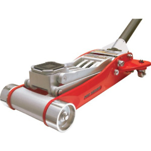 Big Red T84032 Torin Hydraulic Low Profile Aluminum Racing Floor Jack With Dual