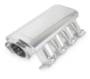 Holley Sniper Intake Manifold 820041 1 Silver Ls1 Ls2 Ls6 Cathedral Port 102
