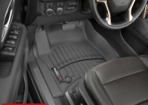 Weathertech Floorliner For Yukon escalade tahoe 1st And 2nd Row Black