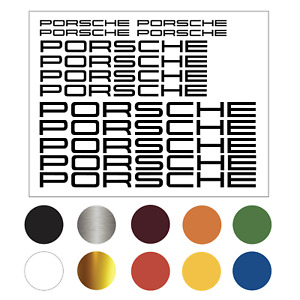 Parts For Porsche Car Decals Vinyl Sticker Buy 1 Get 1 Free Free Shipping