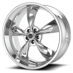 American Racing Ar605 Torq Thrust M 17x7 5 5x4 5 45mm Chrome Wheel Rim 17 Inch