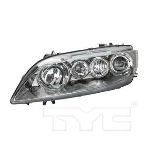 Headlight Fits 2005 Mazda 6 New Am Assy In Stock Left