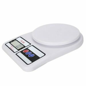 Digital Kitchen Scale 22lb 0 04 Ounce 10kg 1g Slim Electronic Digital Food Scale