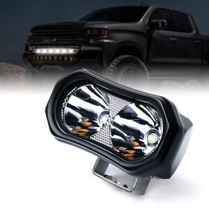 Xprite Mini Led Work Light Spot Beam Driving Fog Lights For Offroad Truck Jeep
