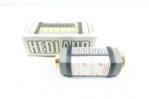 Hedland H782b 050 Variable Area Flow Meter 5 50gpm 1in
