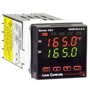 Dwyer 16a2133 Temperature process Controller With Two Relay Outputs Alarm