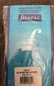 Vtg Rare Filofax 130131 Reinforcing Patches Fits All Sizes Inserts