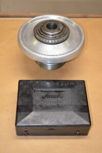 Jacobs Spindle Nose Lathe Chuck W Lo Spindle Mount Collets