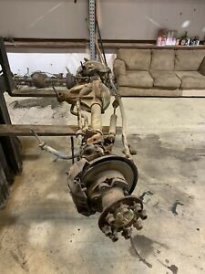 1989 Ford Dana 60 Kingpin Drw Front Axle Assembly 4 10 Gears