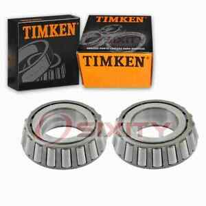 2 Pc Timken Rear Differential Bearings For 2000 2009 Dodge Durango Driveline Yh