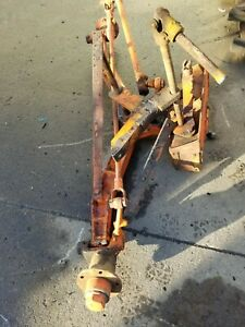 Allis Chalmers Ac Wc Wide Front Axle