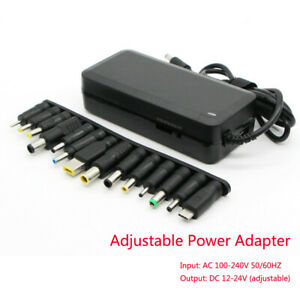 5v Usb Adjustable Voltage 12 To 24v Ac dc Switch Universal Power Supply Adapter