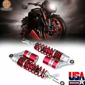 14 Gas Round Suspension 360mm Motorcycle Air Shock Absorber For Harley Aprilia
