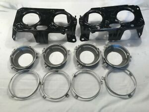 71 72 73 74 Charger Se R t 500 Rallye Headlight Buckets Cups And Trim Rings