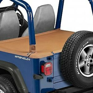 1992 1995 Jeep Wrangler Deck Tonneau Cover For Hard Top Model Spice Velcro
