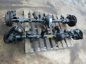 Jeep Wrangler Jk J8 Dana 44 Axle Set Tested New Parts 4 10 E lockers