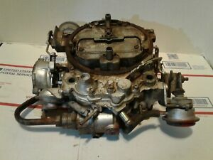 1980 1984 Chevrolet Gmc Truck Rochester Quadrajet 4 Barrel Carburetor 350 454 V8
