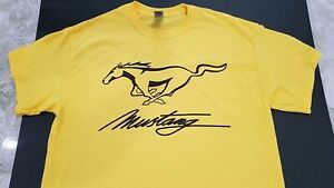 New Mustang T shirt Ford Shelby Gt Gt500 Gt350 Mach Boss 3 E 1 Convertible Gt40