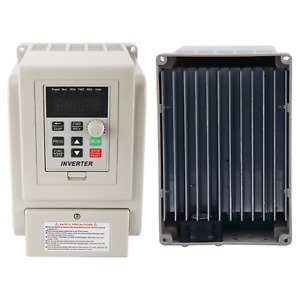Yaeccc 220v 1 5kw Single Phase To 3 three Phase Output Frequency Converter Vfd