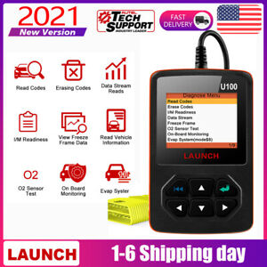 Launch Auto Car Obd2 Code Reader Diagnostic Tool Scanner Check Engine Fault Scan