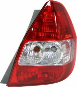 Cpp Red Lens Tail Light For 2007 2008 Honda Fit