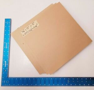 3 8 Thick Clear Acrylic Lucite Sheet 0 375 X 12 00 X 12 00 4 Pack