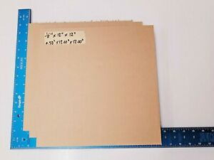 1 2 Thick Clear Acrylic Lucite Sheet 0 50 X 12 00 X 12 00 3 Pack