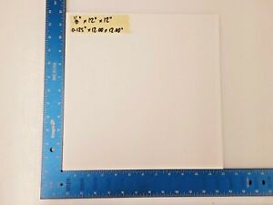1 8 Thick Clear Acrylic Lucite Sheet 0 125 X 12 00 X 12 00 6 Pack