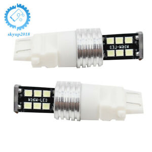 2 X High Power Ice Blue 3156 3157 15smd Reverse Backup Drl Lights Led Bulbs