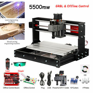 Cnc 3018 Pro Grbl Wood Router Engraving 3 Ax is Pcb Milling Machine 5500mw J9a4