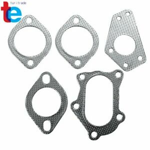 For 02 07 Wrx sti Gd gg 4 5 tip Turbo Back catback up downpipe Exhaust System